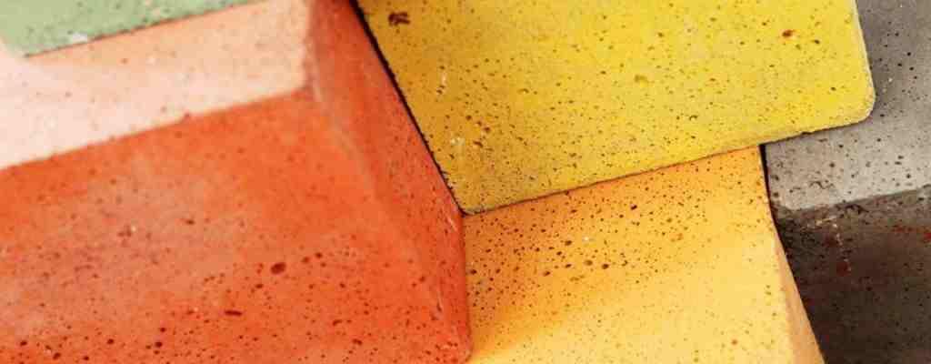 Желтый бетон готовый погреб из бетона москва